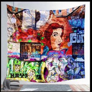 🆕 Graffiti Style Tapestry